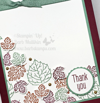 To Every Season card, check out my Video , more cards on my blog www.barbstamps.com