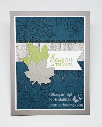 Come to gather online class www.barbstamps.com duo