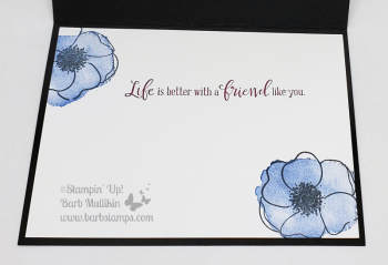 Video and online class for the Peaceful Poppies Suite www.barbstamps.com #stampinup #peacefulpoppies #peacefulmoments