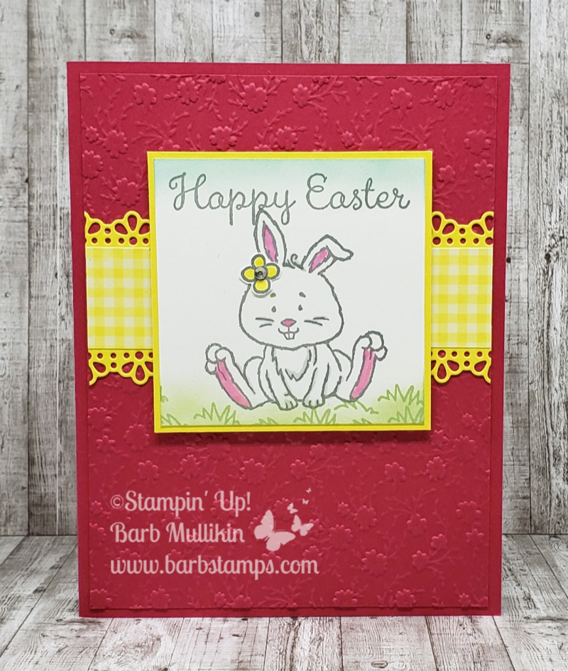 Welcome easter osat card
