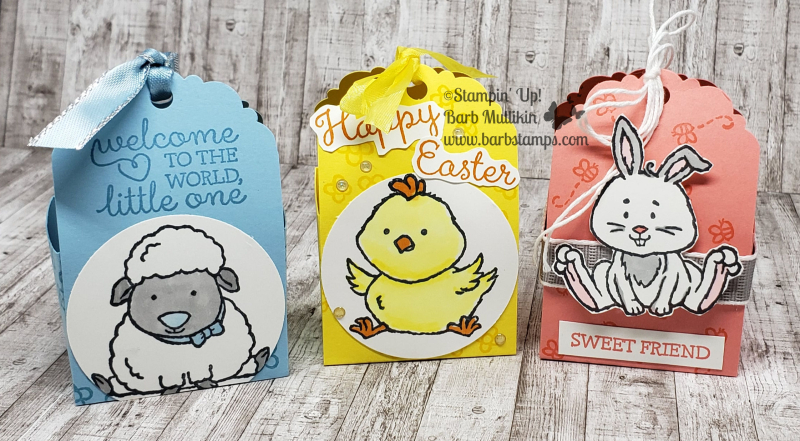 Welcome easter tag boxes
