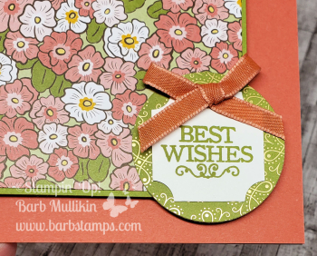Ornate Garden with Darling Label Punch box www.barbstamps.com