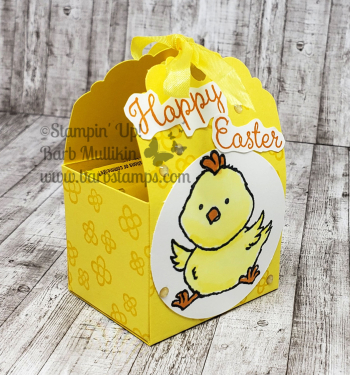VIDEO Welcome easter treat boxes www.barbstamps.com #stampinup #welcomeeaster #candytreat