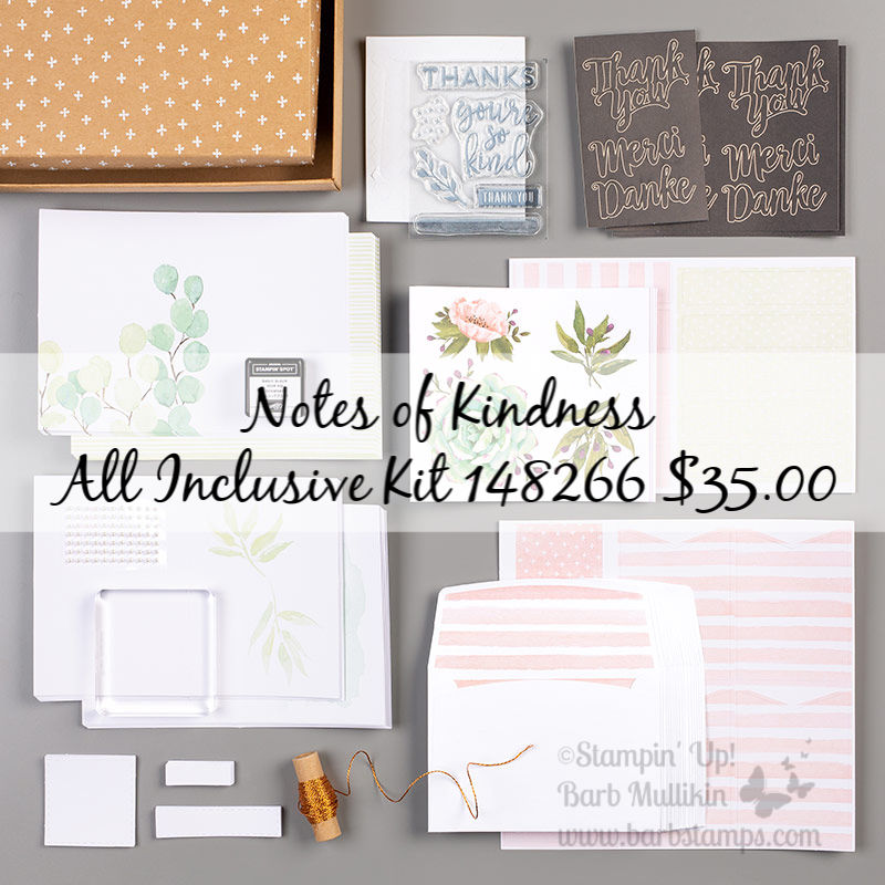 Notes of kindness kit