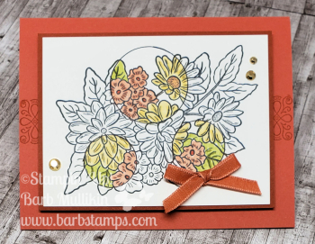 VIDEO on  my blog www.barbstamps.com Ornate Garden Online Class