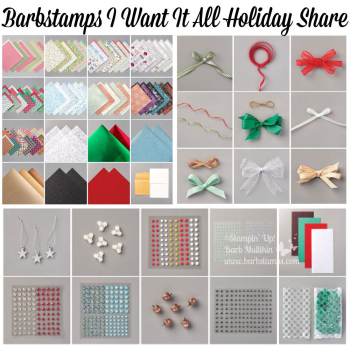 2020 Holiday Catalog I Want it All Share details on the blog www.barbstamps.com