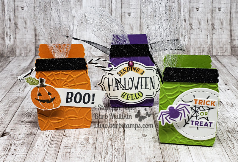 Halloween jar treats