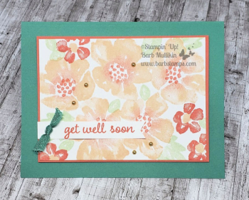 A week of Blossoms in Bloom www.barbstamps.com #stampinup #blossomsinbloom