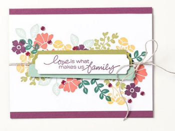 FREE 10 project tutorial using the Lovely You Bundle when you place an order in my store www.shoppingwithbarb.com #stampinup #lovelyyou #totallytechniques