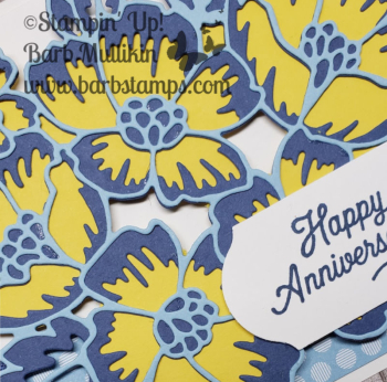 Week of Blossoms in Bloom day 2 www.barbstamps.com #stampinup #blossomsinbloom #mistymoonlight