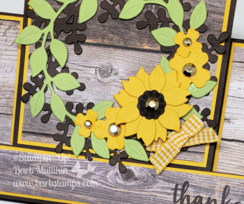 Arrange step card on wood1