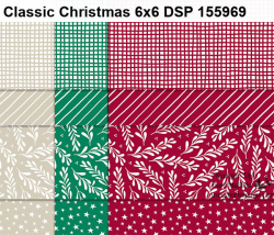 Classic Christmas DSP www.shoppingwithbarb.com