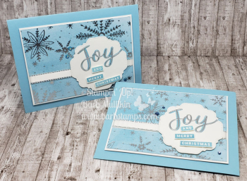 Peace & Joy bundle, coloring Feels Like Frost DSP www.barbstamps.com