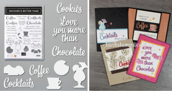Nothings Better Than Class To Go www.barbstamps.com #stampinup #loveyoumorethan