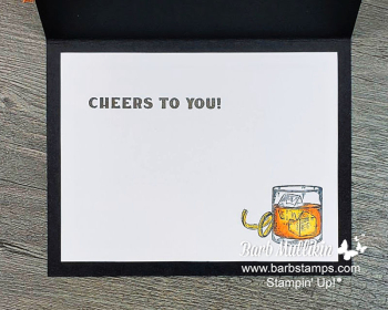 Whiskey Business #mancard #masculinecard www.barbstamps.com