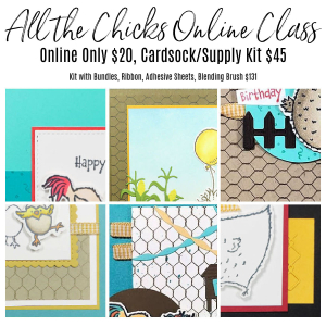 All the Chicks Online Class www.barbstamps.com