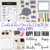 Hats off Class To Go www.barbstamps.com