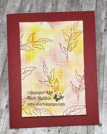 totally techniques club grid lines for november www.barbstamps.com