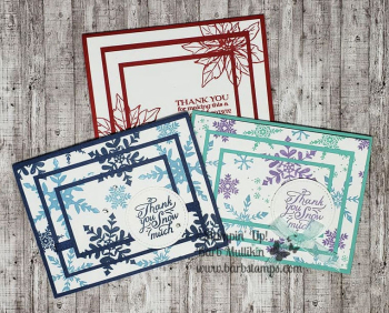 Totally Techniques Triple Time Stamping earn a $30 gift certificate by joining the club www.barbstamps.com
