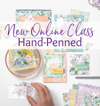 Hand penned Online Class www.barbstamps.com