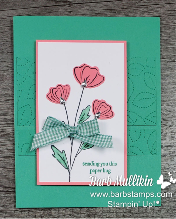 Flowers of Friendshhip Class To Go www.barbstamps.com