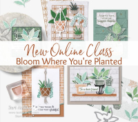 Bloom Where You're Planted Online Class www.barbstamps.com
