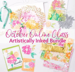 Artistically Inked Online Class www.barbstamps.com